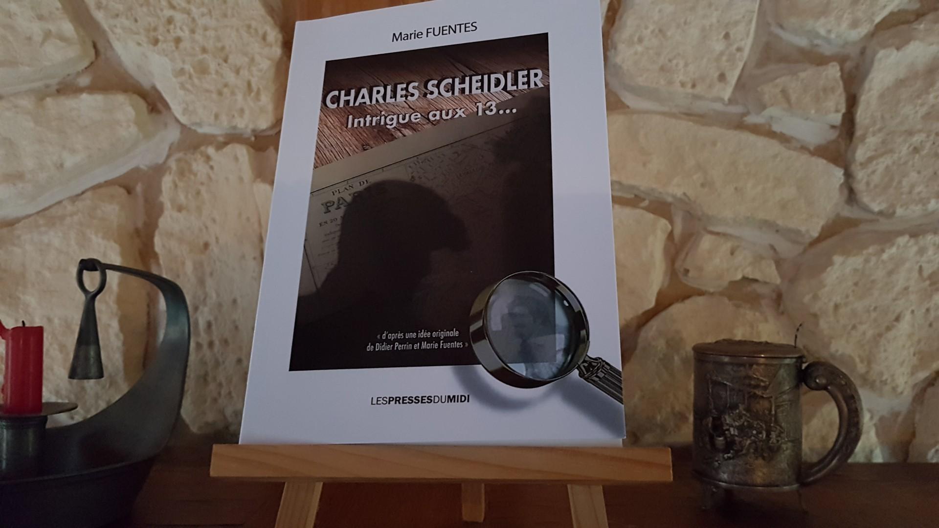Charles SHEIDLER - Intrigue aux 13... 1ère de couverture