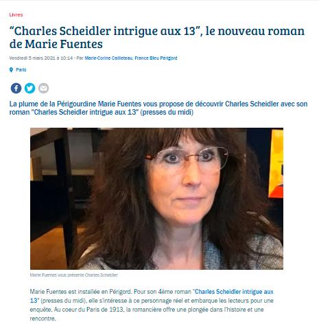 Mon interview sur France Bleu